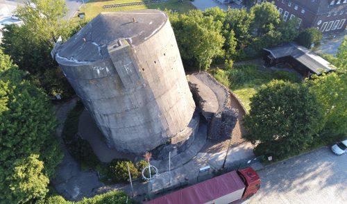 Artikelbild zu Artikel Sanierung der Umlenkhaken am Bunker in Sande