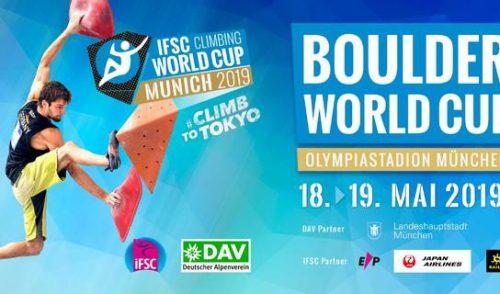Artikelbild zu Artikel IFSC Boulder Worldcup 2019 Munich