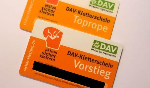 Artikelbild zu Artikel Kletterscheinkurs am 26. und 27.09.